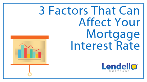 3 Factors That Can Affect Your Mortgage Interest Rate